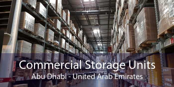 Commercial Storage Units Abu Dhabi - United Arab Emirates