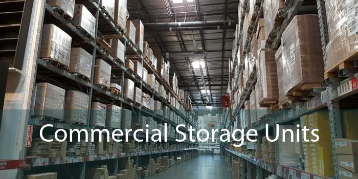 Commercial Storage Units  -
