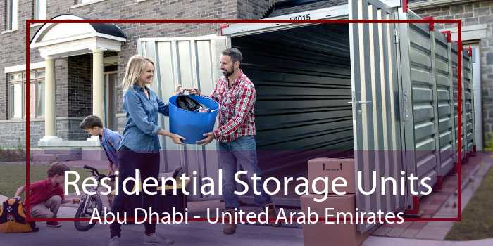 Residential Storage Units Abu Dhabi - United Arab Emirates