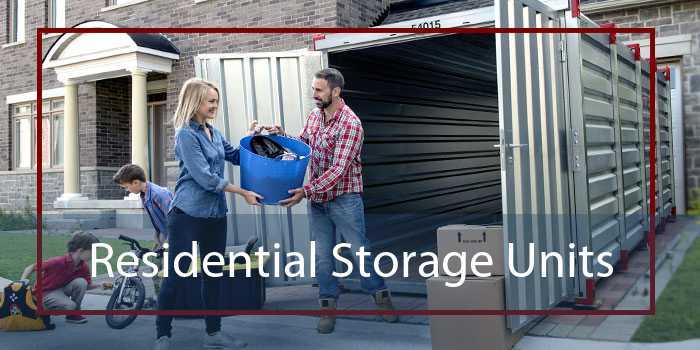 Residential Storage Units
