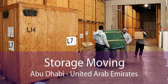 Storage Moving Abu Dhabi - United Arab Emirates